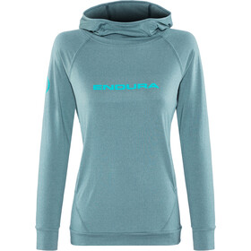 Endura SingleTrack Hoodie Women kingfisher